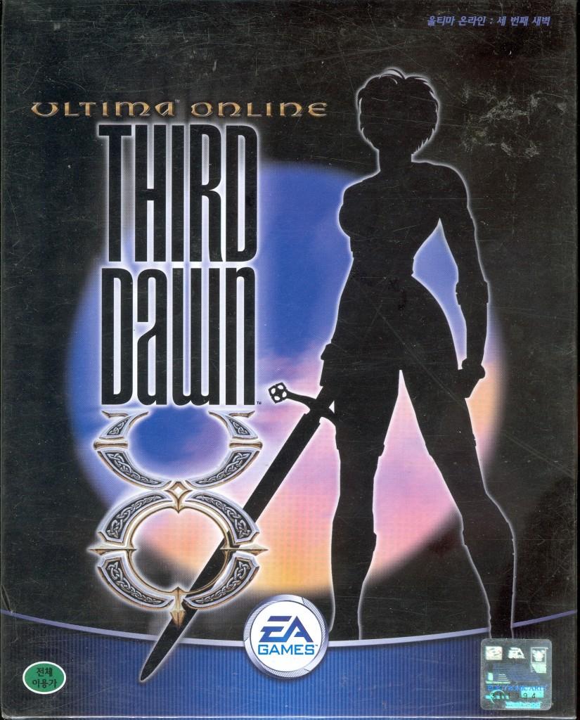 02-3 Ultima Online - Third Dawn (2001,Korean) 의 주주클럽 5집이 들어있지 않은 버전의 박스 앞면 사진