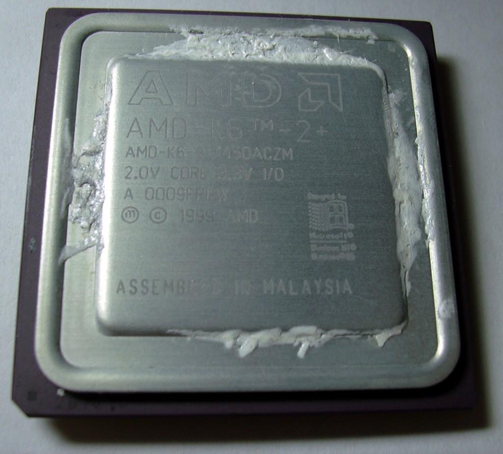 12 AMD K6 CPU 의 사진