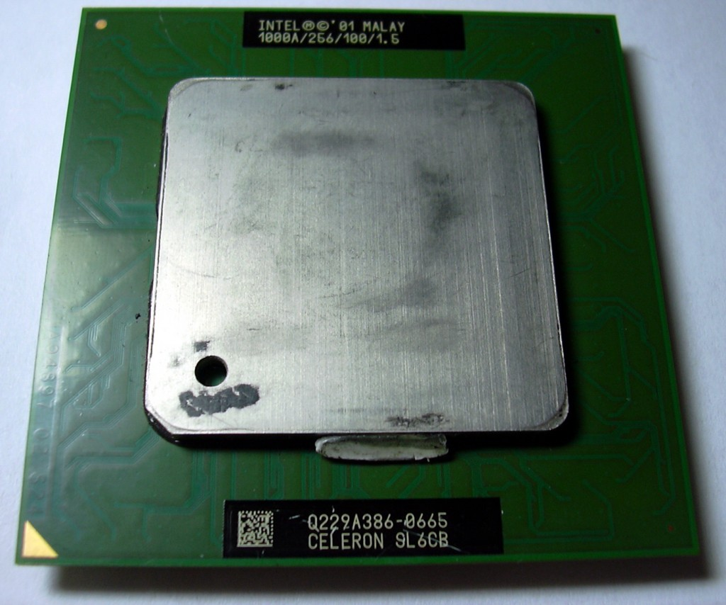 14 Intel Celeron 1000 CPU 의 사진