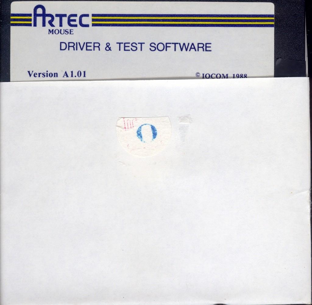 18 Artec Mouse Driver Diskette 사진