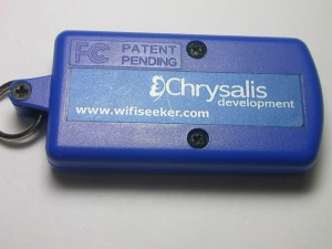 Chrysalis Development의 Wifi Seeker 의 뒷면 모습