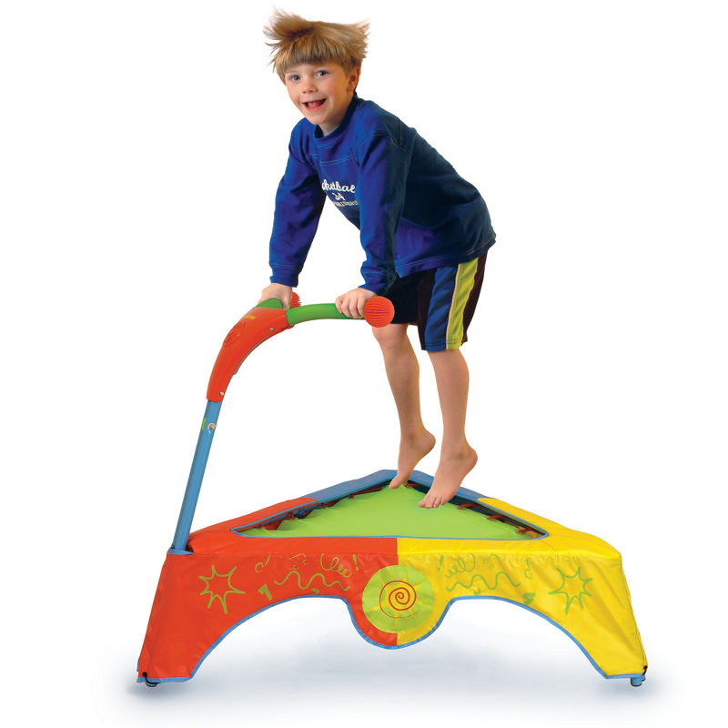 The Jump And Learn Trampoline의 사진
