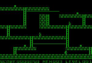 Lode Runner 의 플레이 화면